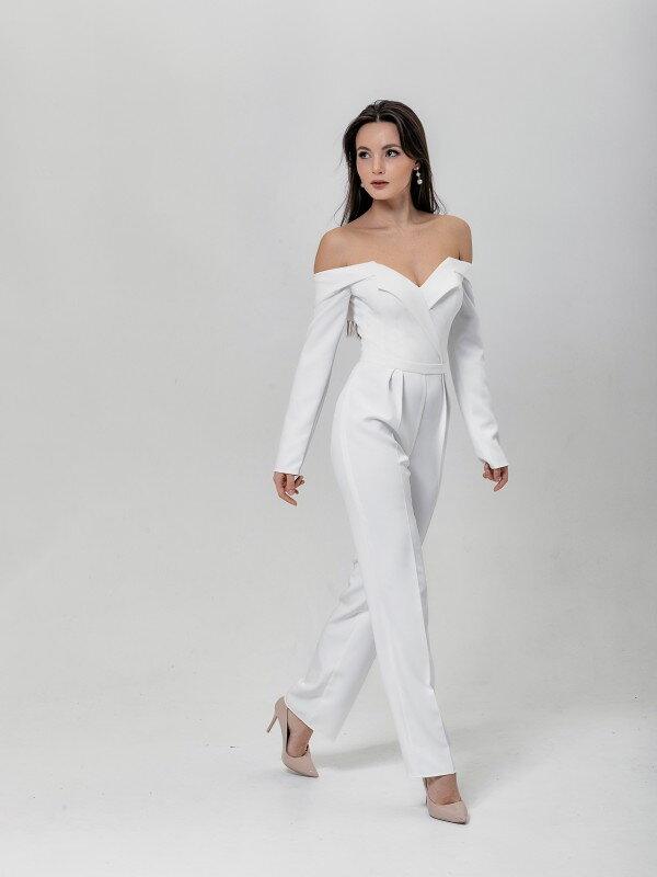 Осеннее свадебное платье Rut 4121