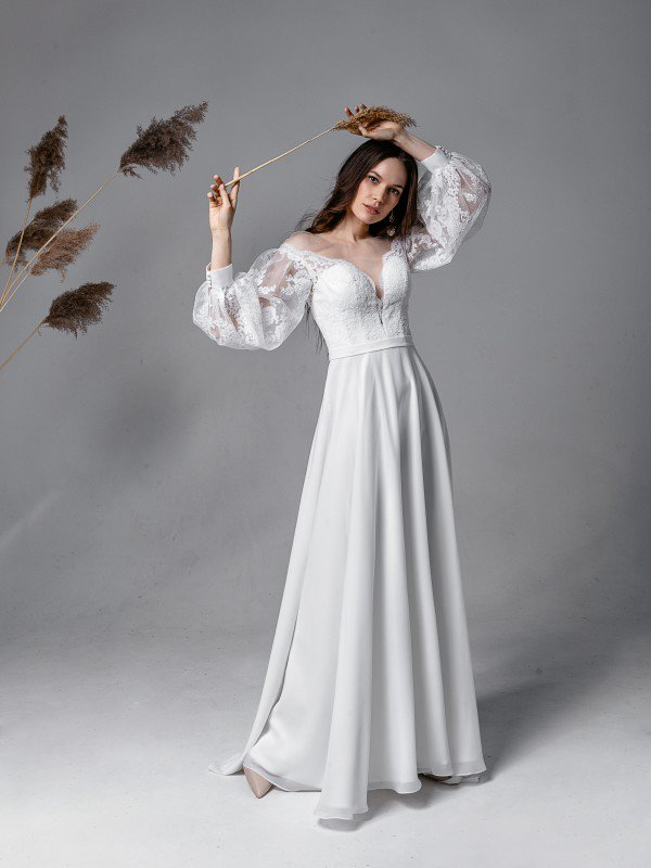 Свадебное платье большого размера Alisa 5821