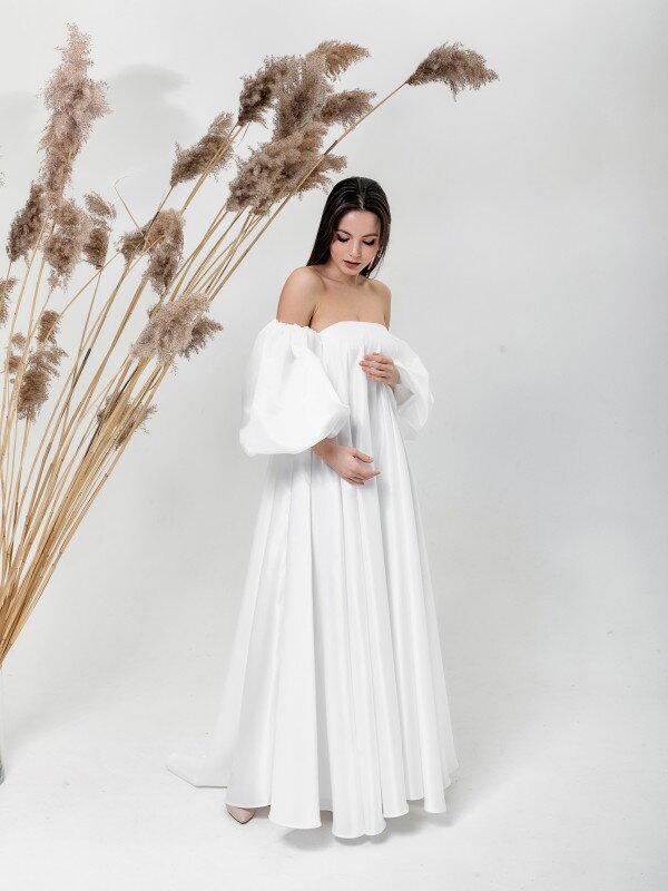 Осеннее свадебное платье Mariia 6021