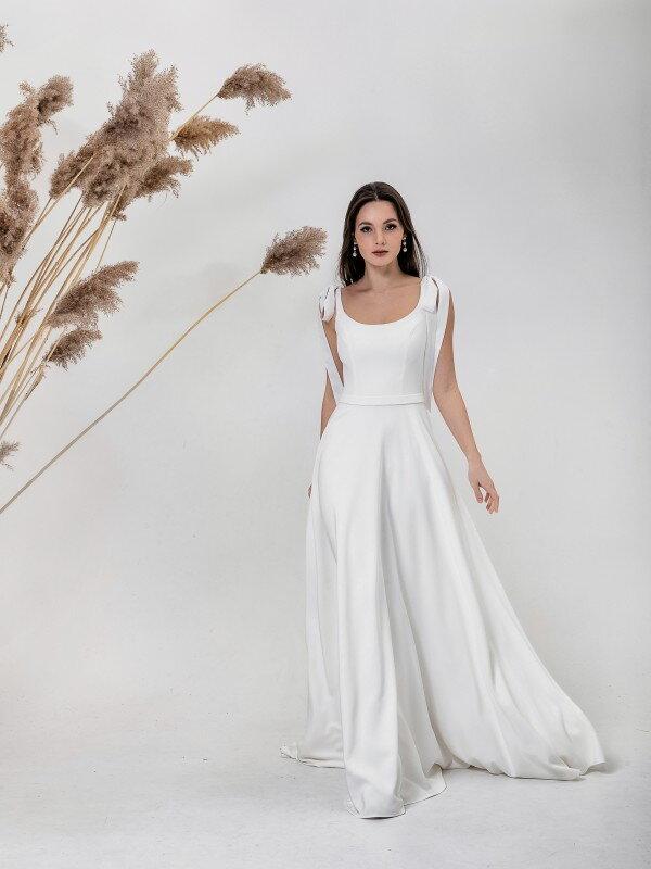 Осеннее свадебное платье Anna 6121