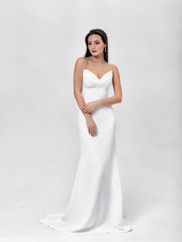 Осеннее свадебное платье Sharon 6721