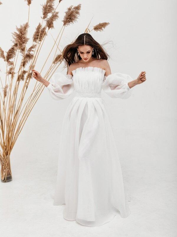 Осеннее свадебное платье Molli 3621