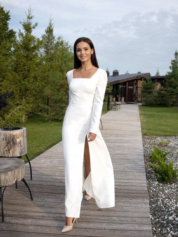 Свадебное платье с разрезом Teri 2922