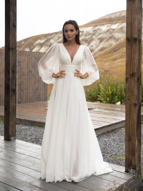 Свадебное платье с разрезом Scarlet 3122