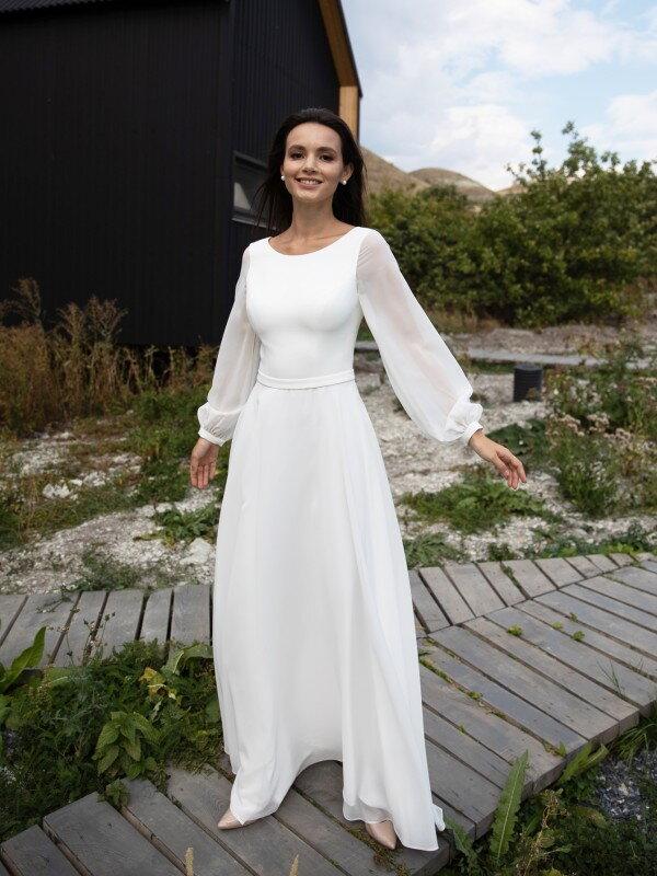 Недорогое свадебное платье Sandra 4822