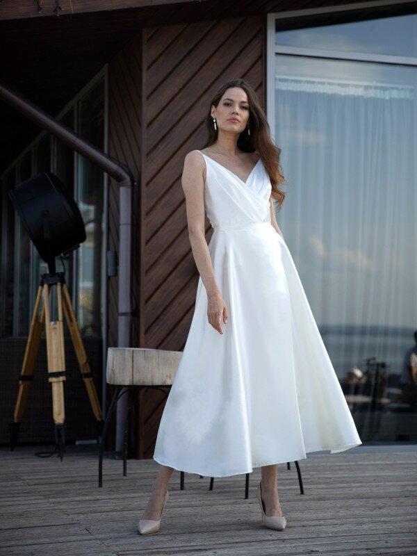 Простое свадебное платье 5322 Carol
