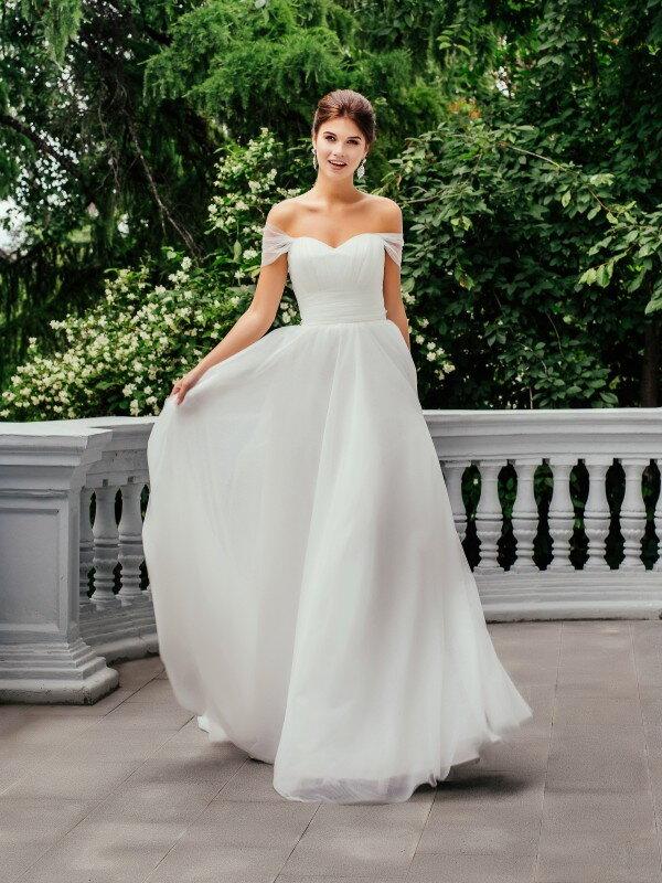 Свадебное платье с корсетом Katy 118