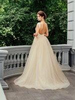 Кружевное свадебное платье рыбка со съемной юбкой арт. 222