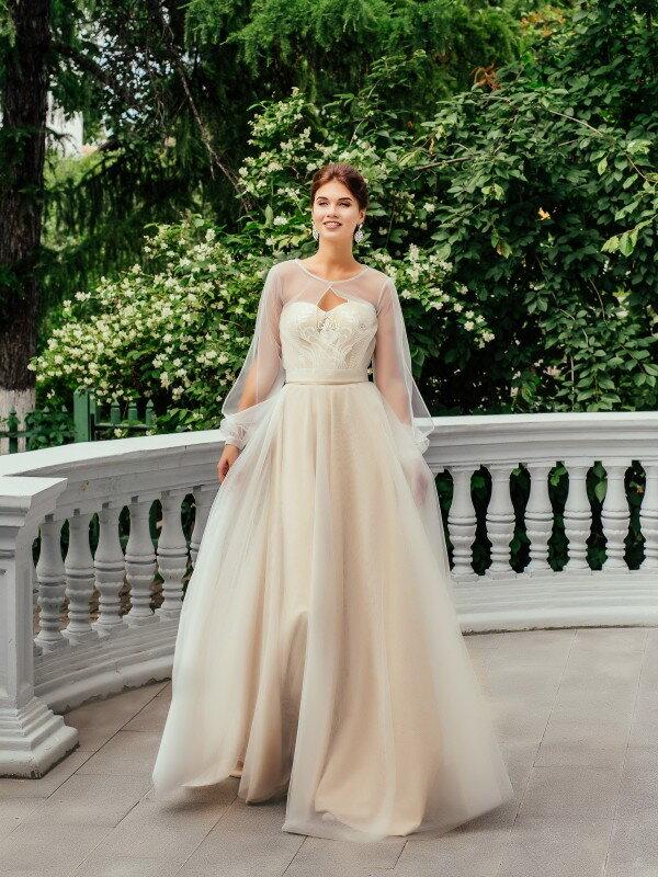 Цветное свадебное платье Dana 229m