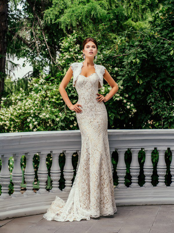 Золотое свадебное платье Iren 299m
