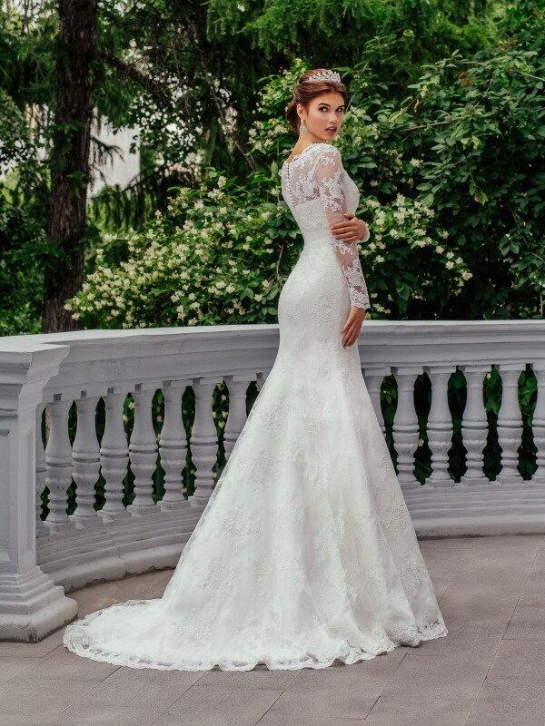 Свадебное платье с рукавами Monica 0320
