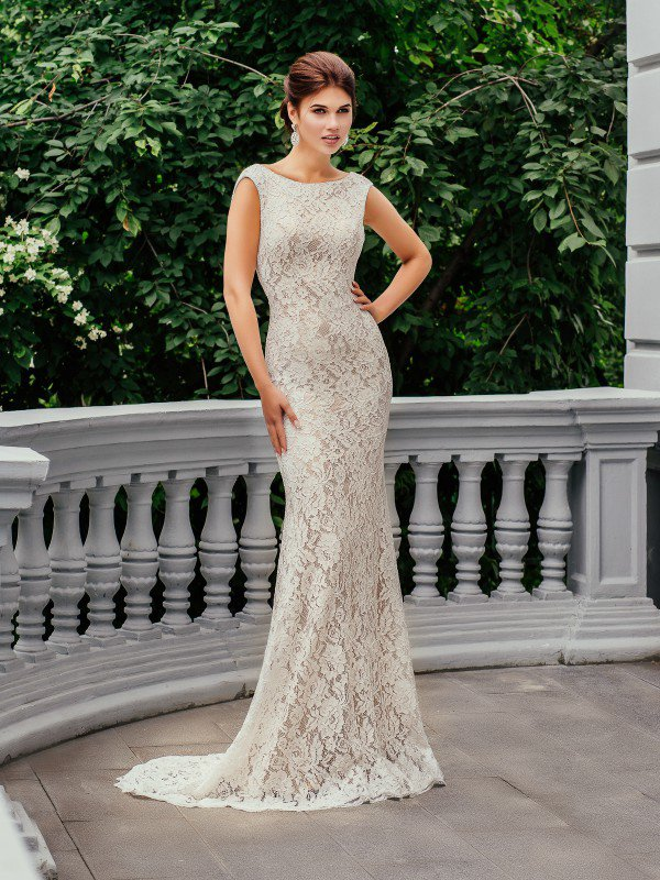 Цветное свадебное платье Avril 221m