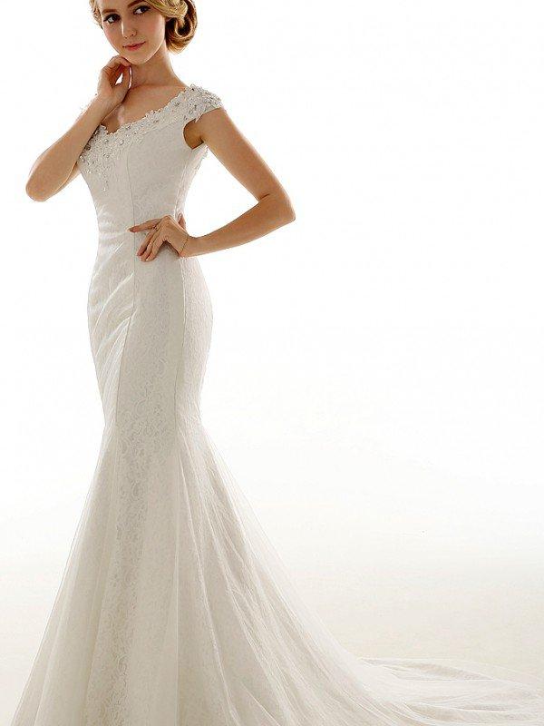 Открытое свадебное платье 701