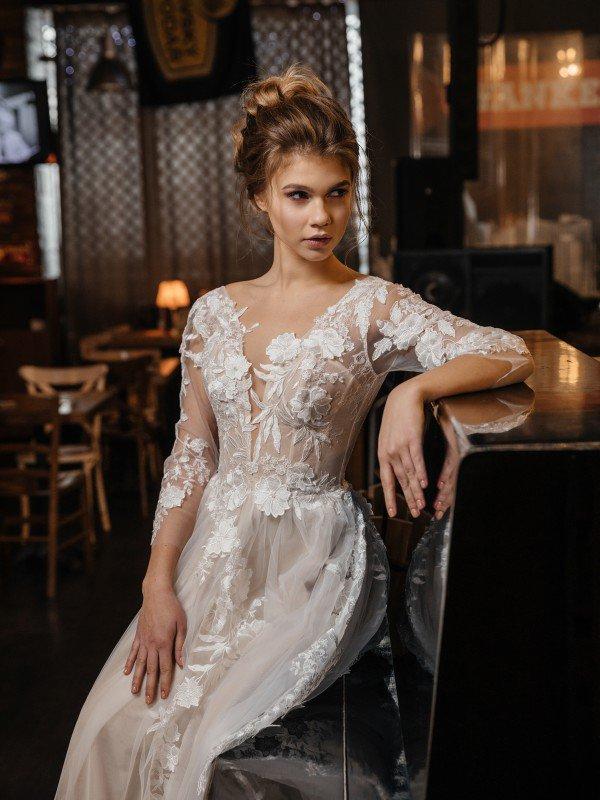 Кружевное свадебное платье Filomena 330m