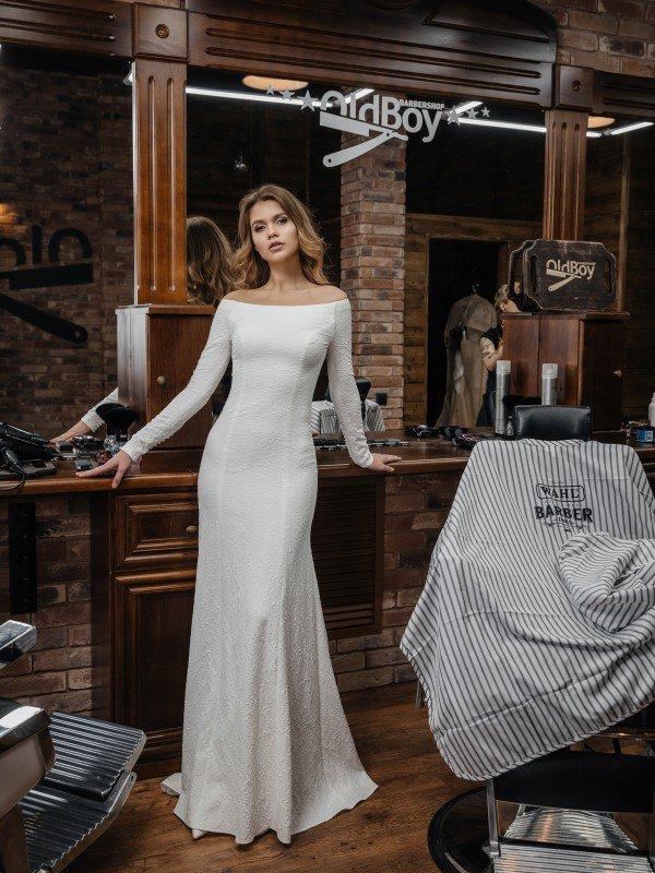 Свадебное платье рустик Varda 373