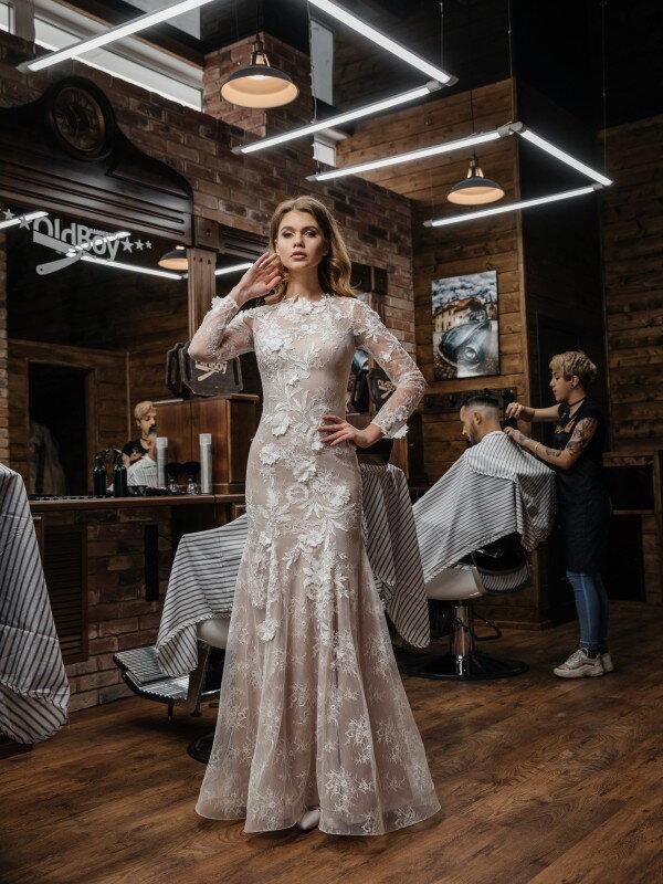 Кружевное свадебное платье Ondina 376