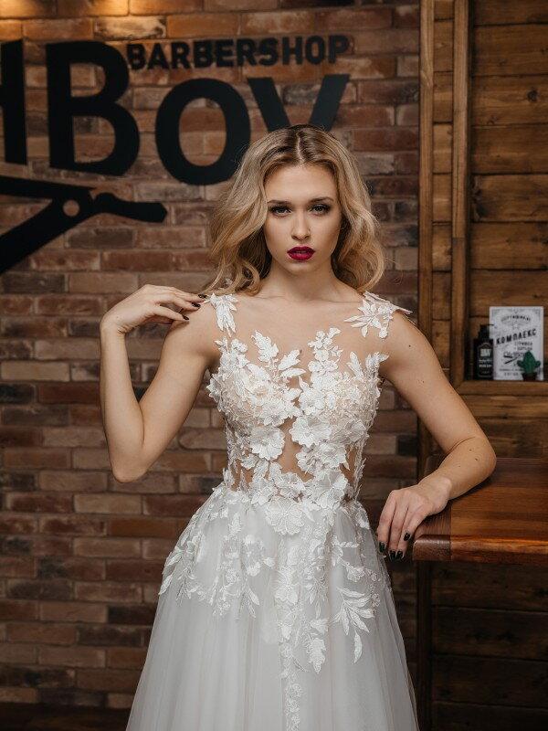 Свадебное платье новинка Domna 384