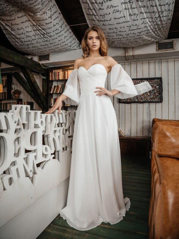 Свадебное платье с корсетом Hana 417