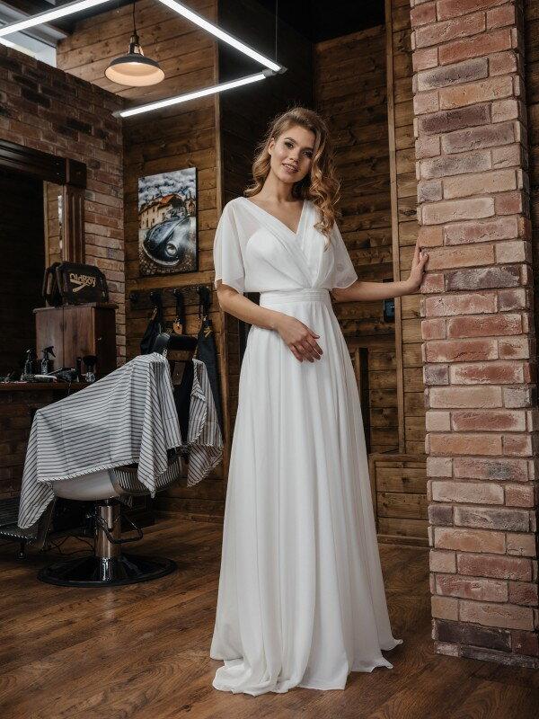 Свадебное платье рустик Elen 419