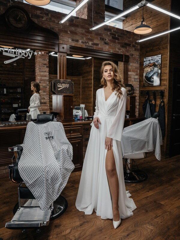 Свадебное платье с корсетом Bella 420
