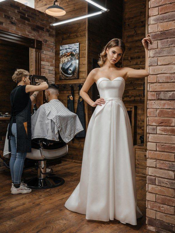 Свадебное платье с корсетом Alda 424