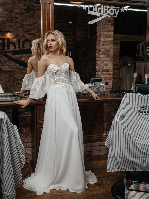 Свадебное платье ретро Blanca 427