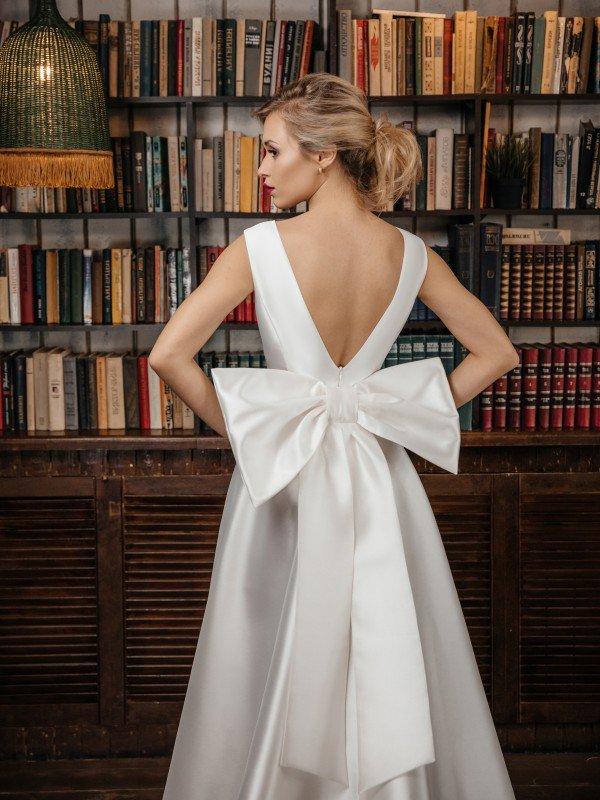 Строгое свадебное платье Paloma 437