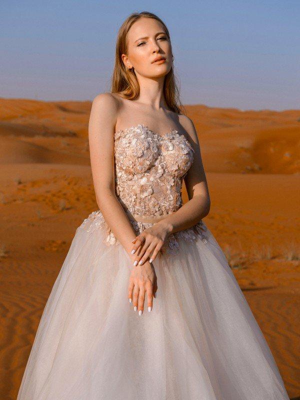 Открытое свадебное платье Shakira 103