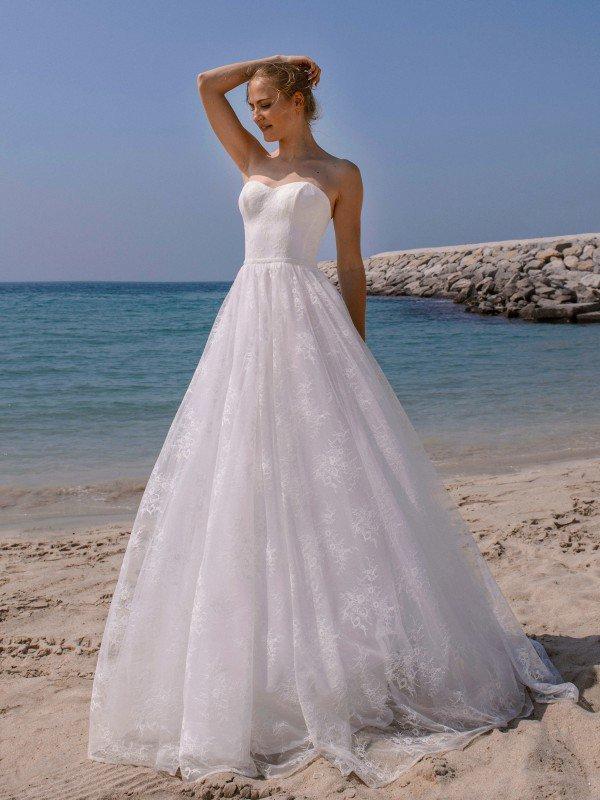 Кружевное свадебное платье Maya 1125