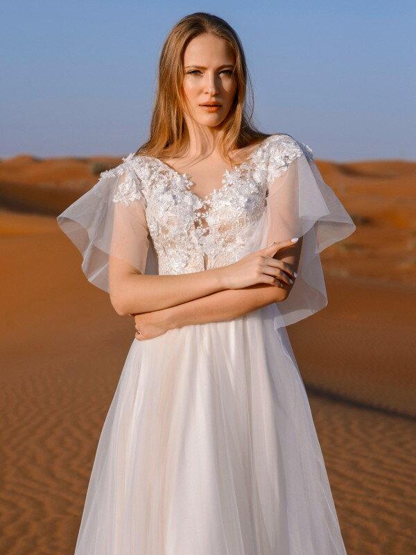 Цветное свадебное платье Chloe 217
