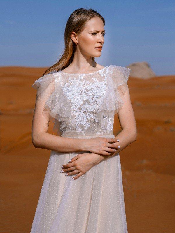 Цветное свадебное платье Marta 315m