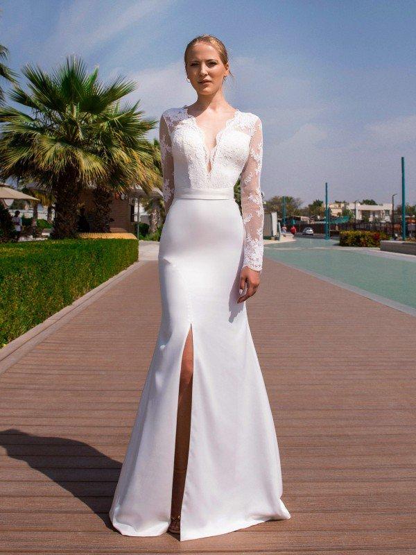 Открытое свадебное платье Arne 0056