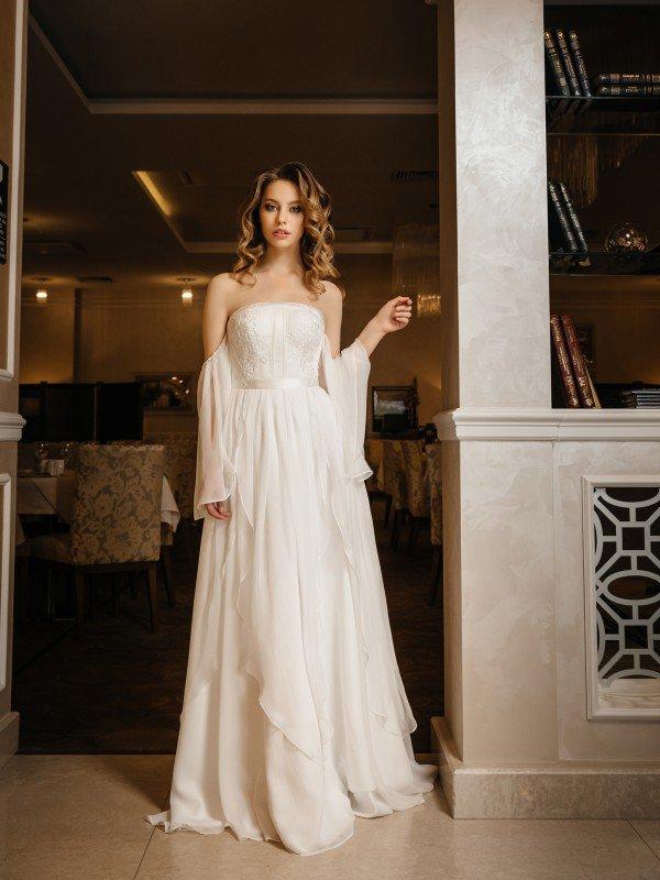 Скромное свадебное платье Nadira 398