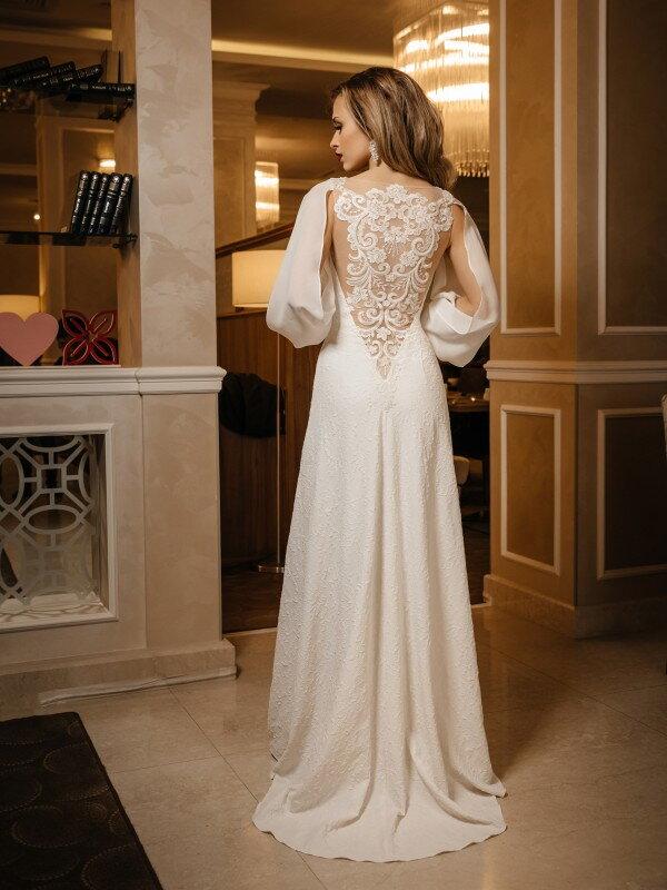 Свадебное платье с блестками Pilar 433