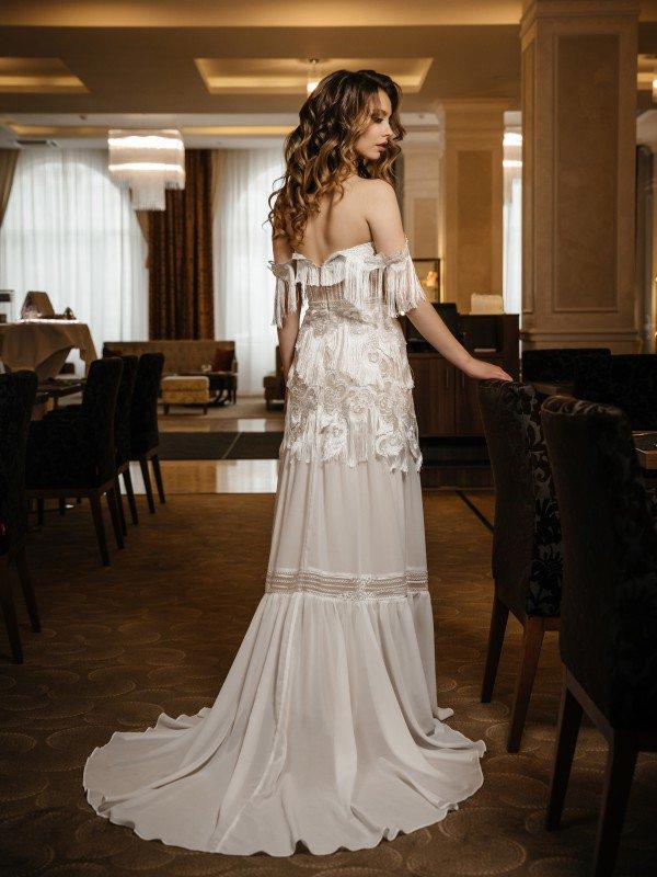 Свадебное платье рустик Adora 434