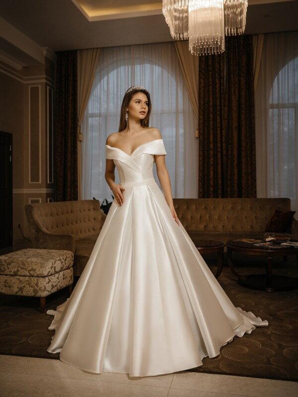Свадебное платье с корсетом Karmen 440
