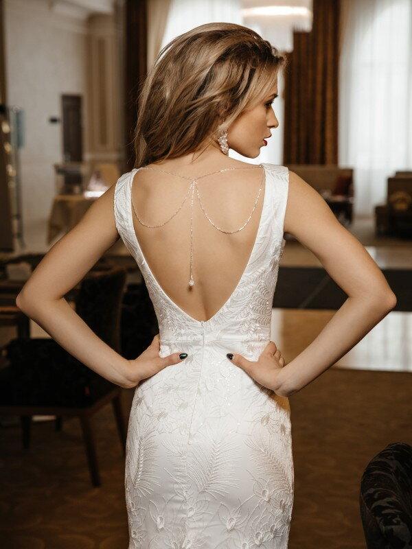 Свадебное платье с блестками Marita 442