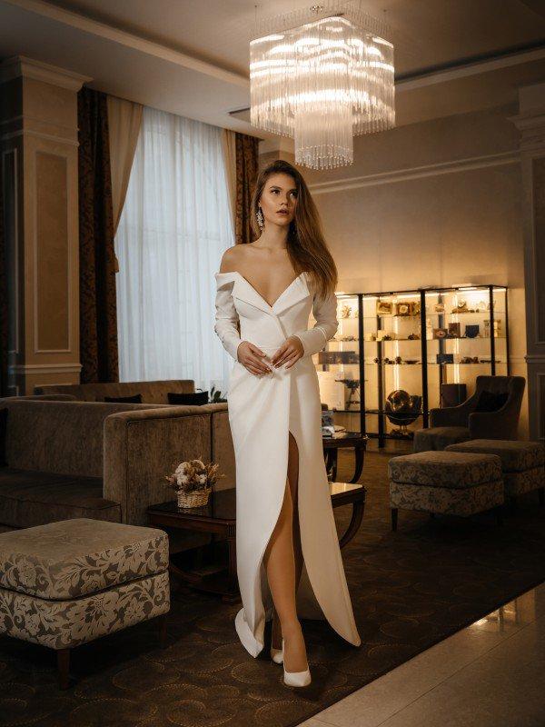 Свадебное платье с корсетом Estella 445