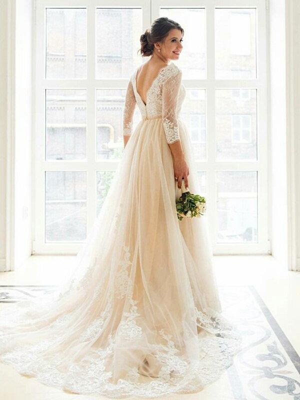 Пышное свадебное платье для полных Ivanka 0120r