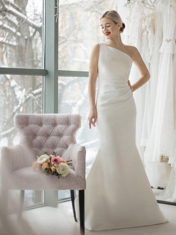 Свадебное платье рыбка Dagni 508