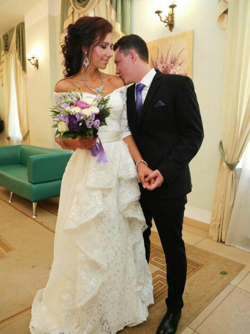 пошив свадебного платья-трансформер со съемной юбкой