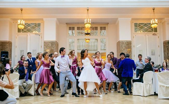 Флеш моб поздравление со свадьбой