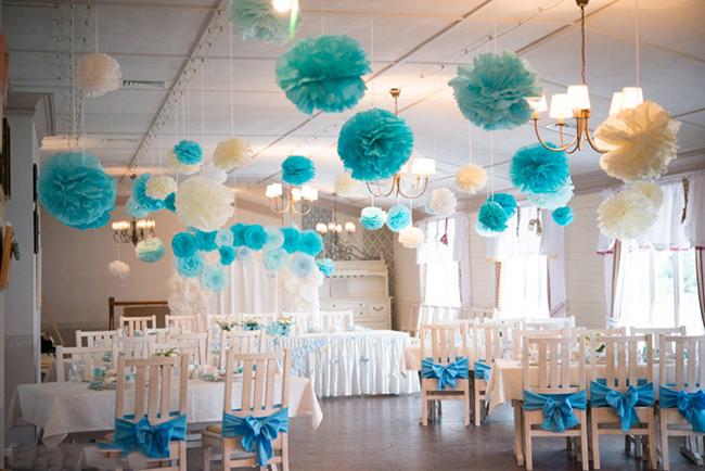 Украшение дома и зала на свадьбу