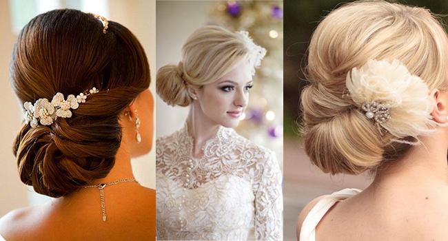 Плетение причесок на средние волосы на свадьбу