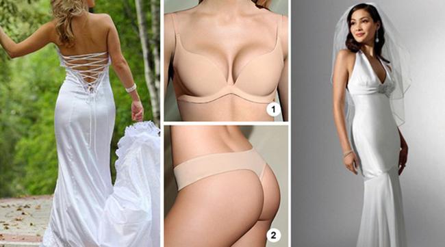 Свадебные Платья Одевают С Бюстгальтером