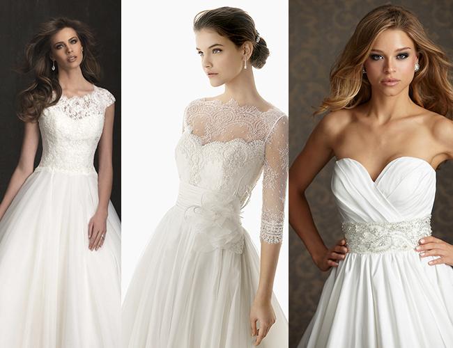 Свадебная прическа платье а силуэт